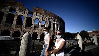 تخفيف الإجراءات في إيطاليا
