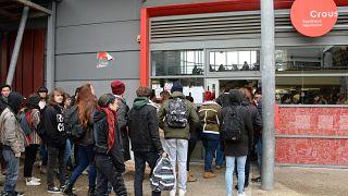 Fransa'da üniversitesi kampüsü