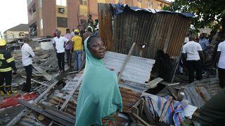Effondrement meurtrier d'un immeuble à Lagos