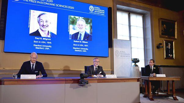 Le prix Nobel d'économie a été attribué aux américains Paul R. Milgrom et Robert B. Wilson