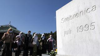 "Projection au mémorial de Srebrenica du film ""Quo Vadis, Aida ?"""