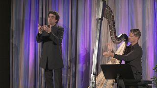 Latin-amerikai lélek hárfára és tenorra