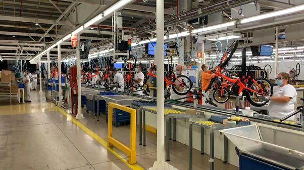Le Portugal produit des vélos à tour de bras.