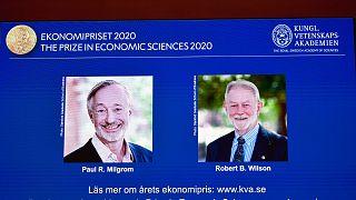بول ميلغروم وروبرت ويلسون، الفائزان بجائزة نوبل للاقتصاد 2020