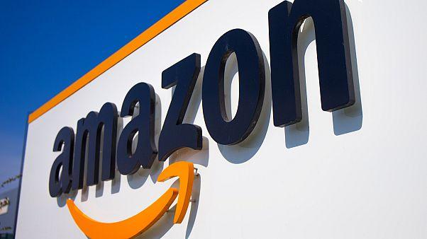Amazon à Douai, le 16 avril 2020