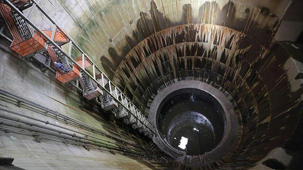 """تعرف على """"بارثينون"""" مستودع مائي عملاق تحت طوكيو لحمايتها من الفيضانات"""
