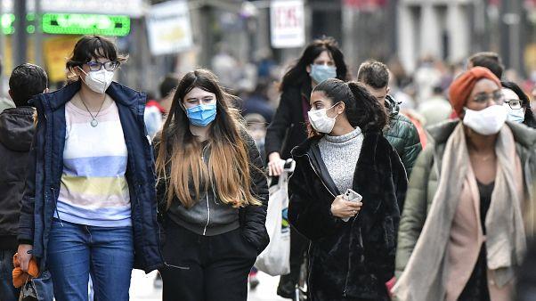 موج دوم شیوع ویروس کرونا در اروپا