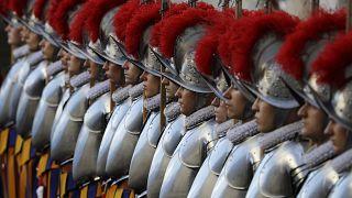 Soldaten der Schweizer Garde