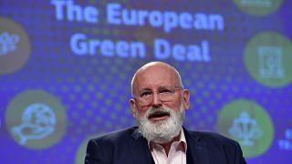 نائب رئيسة المفوضية الأوروبية المكلف بالميثاق الأخضر الأوروبي، فرانز تيمرمانز