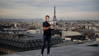 Rafael Nadal im siebten Tennis-Himmel über den Dächern von Paris