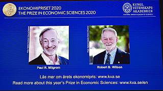 Winners of the Sveriges Riksbank Prize in Economic Sciences in Memory of Alfred Nobel for 2020