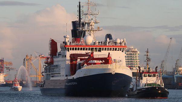 Polarstern de regresso à Alemanha