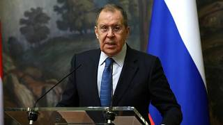 Sforzo diplomatico per Sergey Lavrov..