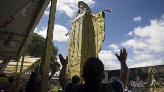 صلوات في المكسيك لوقف تفشي فيروس كورونا