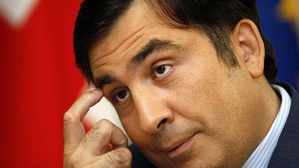 Eski Gürcistan Cumhurbaşkanı Mihail Saakaşvili (arşiv)