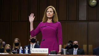 La jueza Amy Coney Barrett ante la Comisión Judicial del Senado