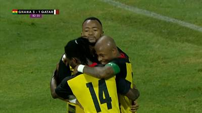 Ghana trounces Qatar in international friendly