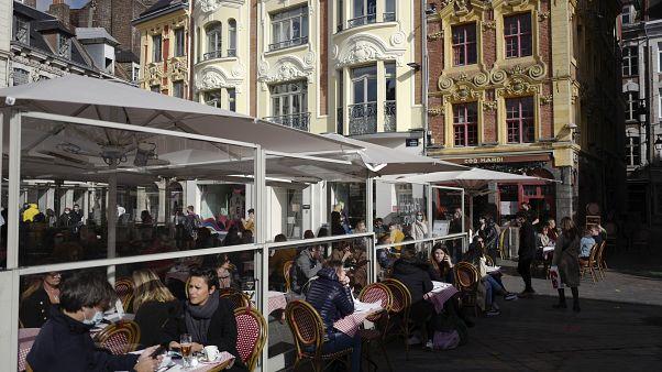 Популярный французский ресторан во времена пандемии