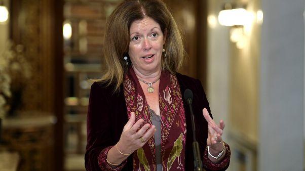 ستيفاني ويليامز المبعوثة الخاصة للأمم المتحدة إلى ليبيا بالوكالة
