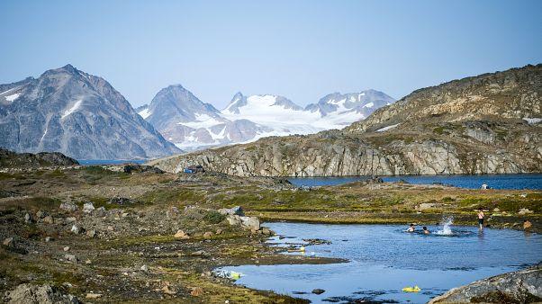 Grönland'ın güney doğu kıyıları