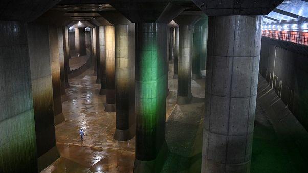 Japonya'daki Kasukabe Rezervuarı