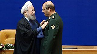 حسن روحانی و حسین دهقان، وزیر سابق دفاع ایران