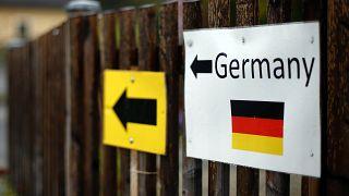 الحدود بين النمسا وألمانيا