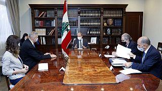دیدار میشل عون با هماهنگ کننده سازمان ملل در لبنان