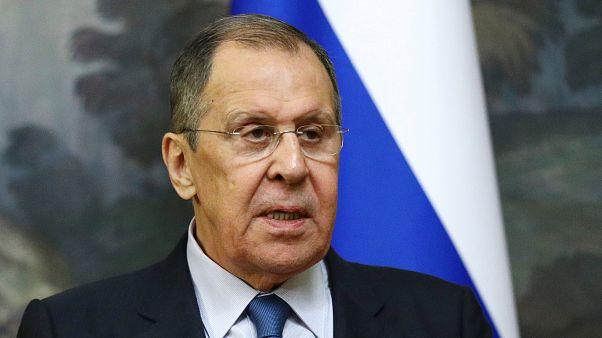 Szergej Lavrov orosz külügyminiszter