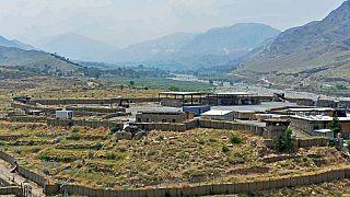 Base militaire du district d'Achin dans la province afghane de Nangarhar, juillet 2020