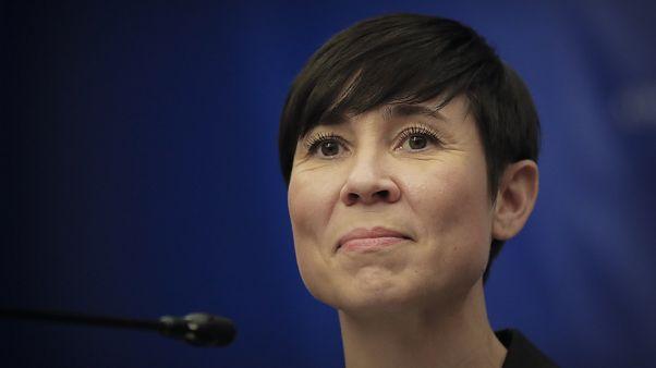 وزيرة الخارجية النرويجية إينه إريكسن سوريديه
