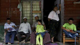 شماری از روهینگیاییهای ساکن مالزی