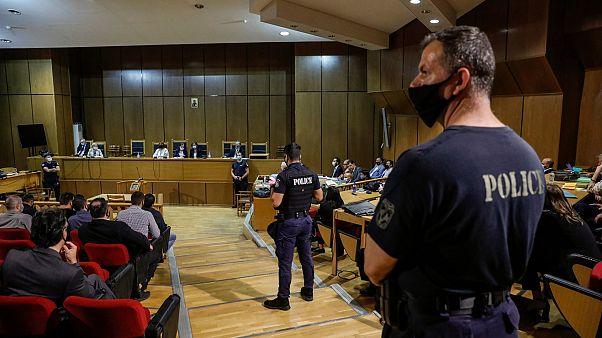 El Tribunal de Apelaciones de Atenas que ha condenado a la cúpula de Amanecer Dorado