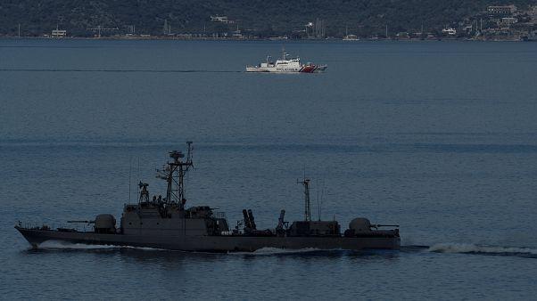 Barco militar turco