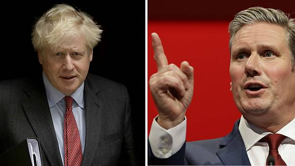 Boris Johnson is facing Sir Keir Starmer after the latter urged for a circuit break lockdown in England