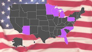 ایالتهای سرنوشتساز در انتخابات ۲۰۲۰ آمریکا