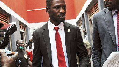 Bobi Wine victime d'un raid contre les locaux de son parti