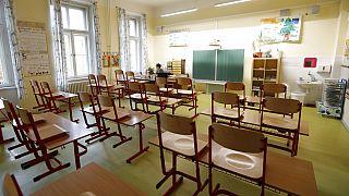 Üres tanterem Prágában