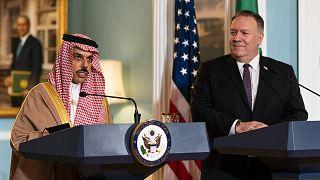 ABD Dışişleri Bakanı Mike Pompeo,  Riyad yönetimini İsrail ile ilişkileri normalleştirmeye davet etti.