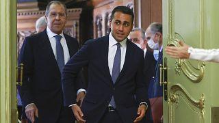 Di Maio con Lavrov