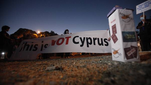 Cyprus protest