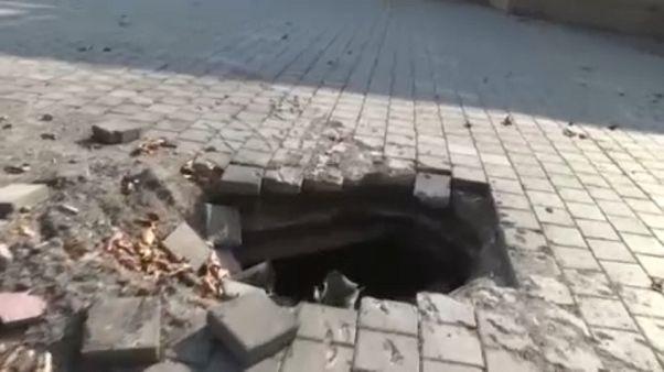 В Карабахе продолжаются артиллерийские обстрелы