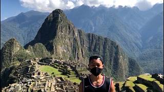 Jesse Katayama has become the first person in seven months to be allowed to enter Machu Picchu.