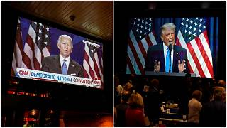 دونالد ترامب وجو بادين - 2020