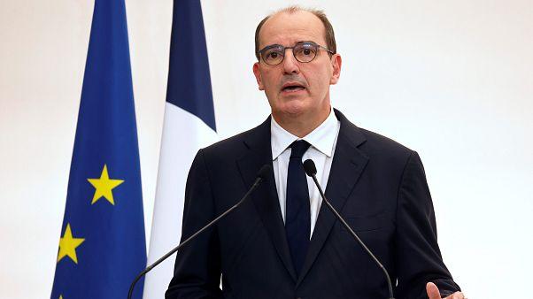 Le Premier ministre Jean Castex, lors de sa conférence de presse du 15 octobre 2020.