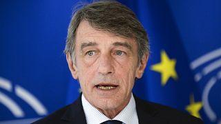 رئيس البرلمان الأوروبي دافيد ساسولي