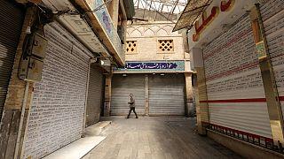بازار تهران، ۵ آوریل ۲۰۲۰
