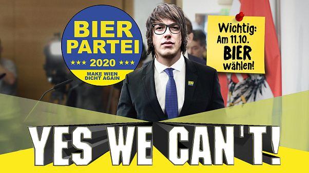 Cosa appare quando andate sul sito Bierpartei