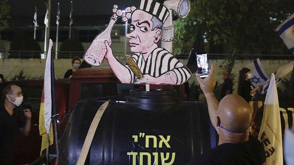 Netanyahu karşıtı protestolar