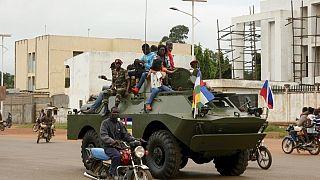Moscou livre des blindés à l'armée centrafricaine
